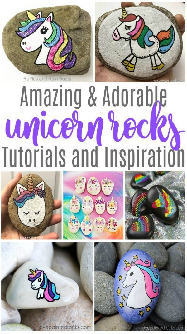 Unicorn Rock Painting Ideas The Best Of The Internet Painted Rocks Kids Rock Painting Ideas Easy Rock Painting Tutorial