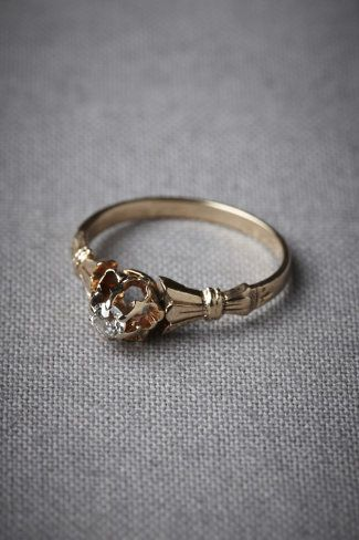beautifully-shaped wedding ring