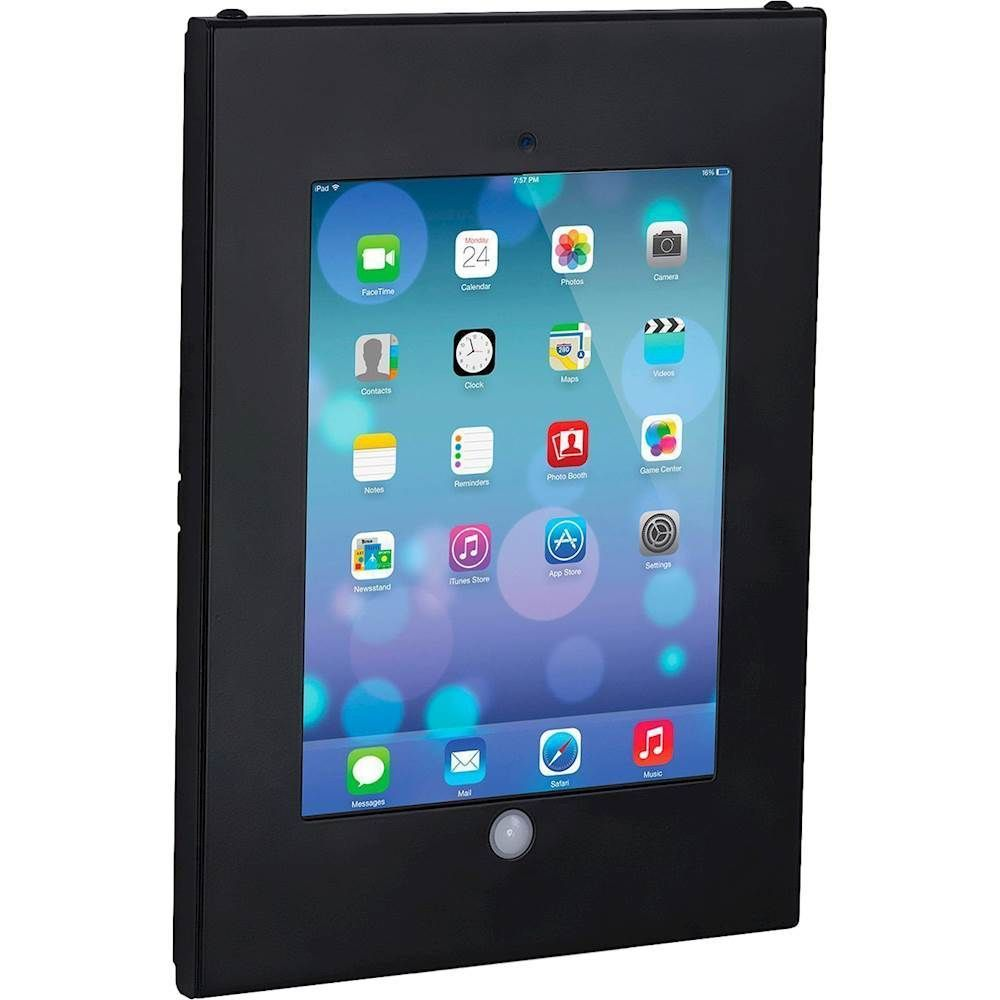 Mount It Wall Mount Enclosure For Apple Ipad Black Ipad Wall Mount Tablet Wall Mount Cool Things To Buy