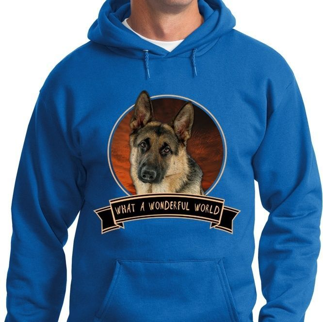 German Shepherd Wonderful World Shirts
