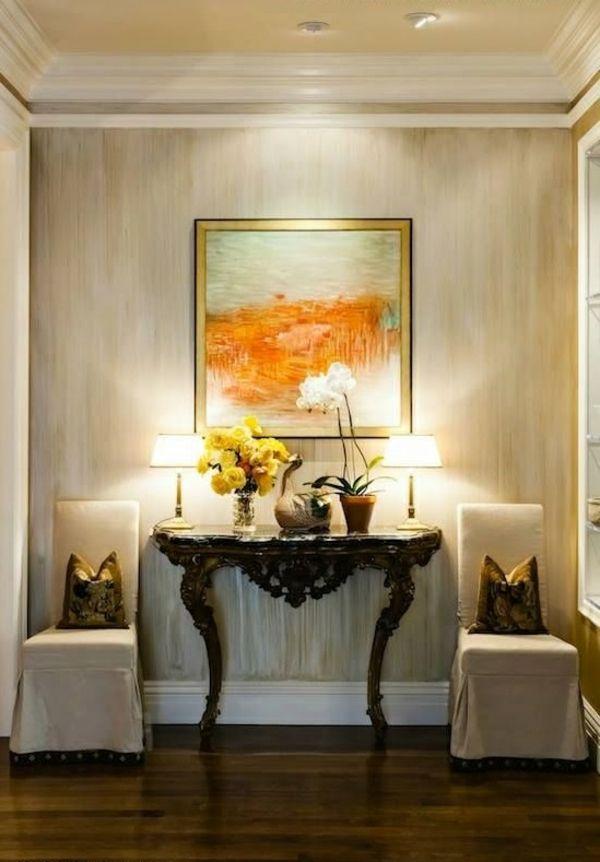 metallic wandfarbe für den flur Dekoration _Esszimmer - schöne schlafzimmer farben