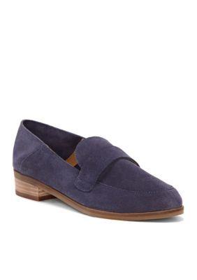 12214f0b489 Lucky Brand Women s Chennie Loafer - Blue - 8.5M