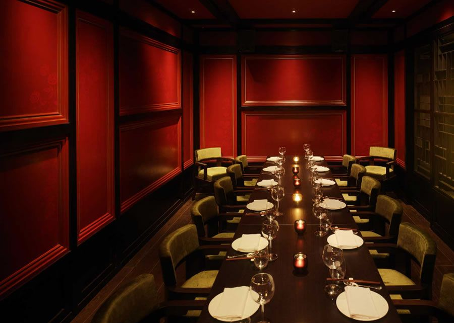 Luxury Private Dining Restaurant Hospitality Interior Design Hakkasan Mayfair London UK