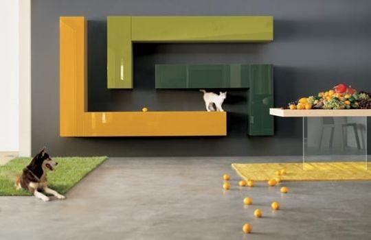 muebles modulares modernos Para mi casa Pinterest Modulares