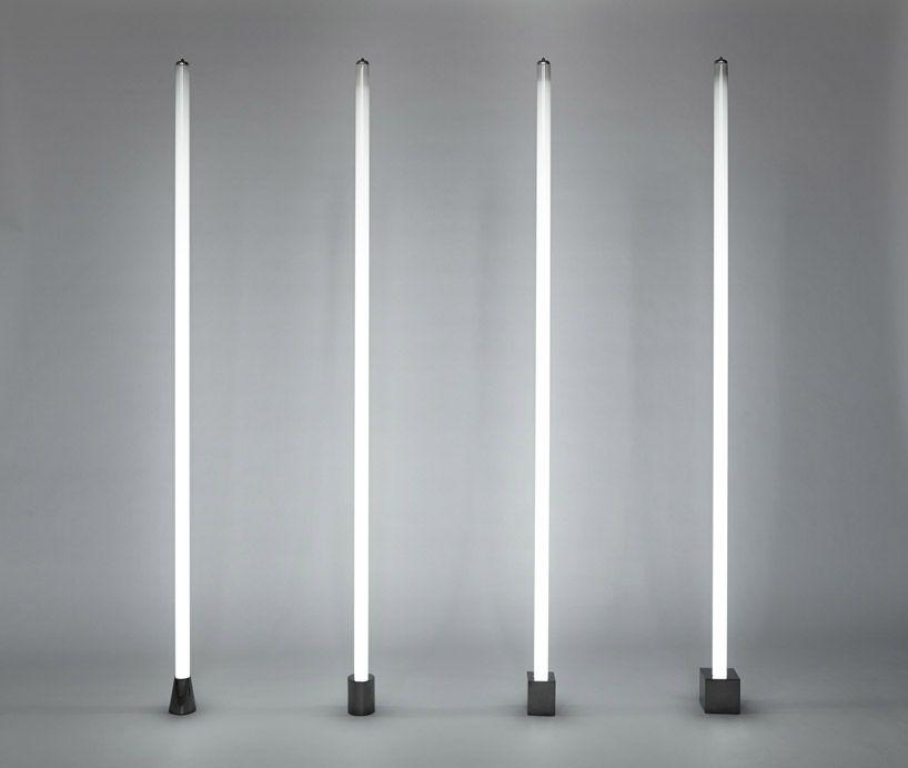 castor design illuminates induction tube light with magnets