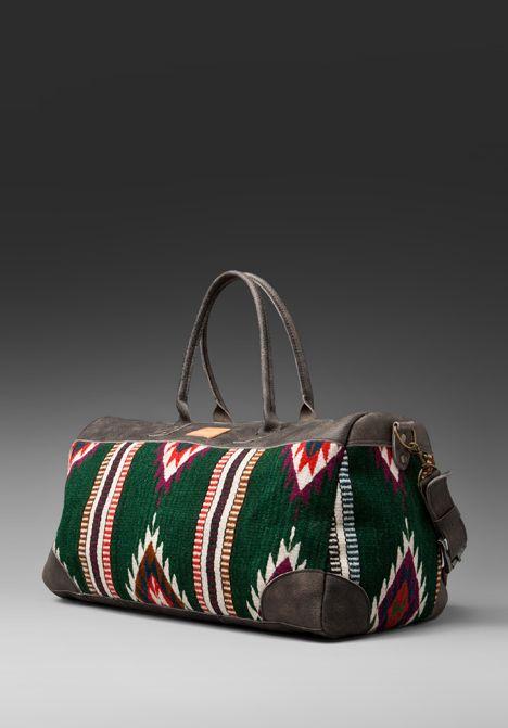 Great accent bag. Will Leather Goods-Oaxacan Duffle  e3b3b545ec