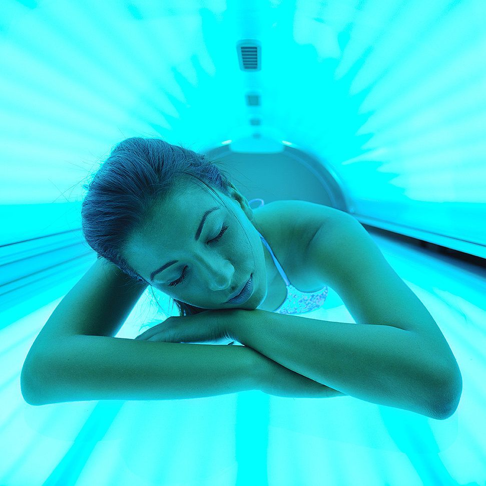 Girl in tanning bed pictures, hot bussy sex