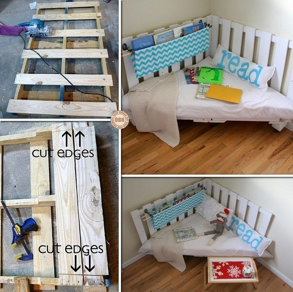 Want a reading corner Then this DIY