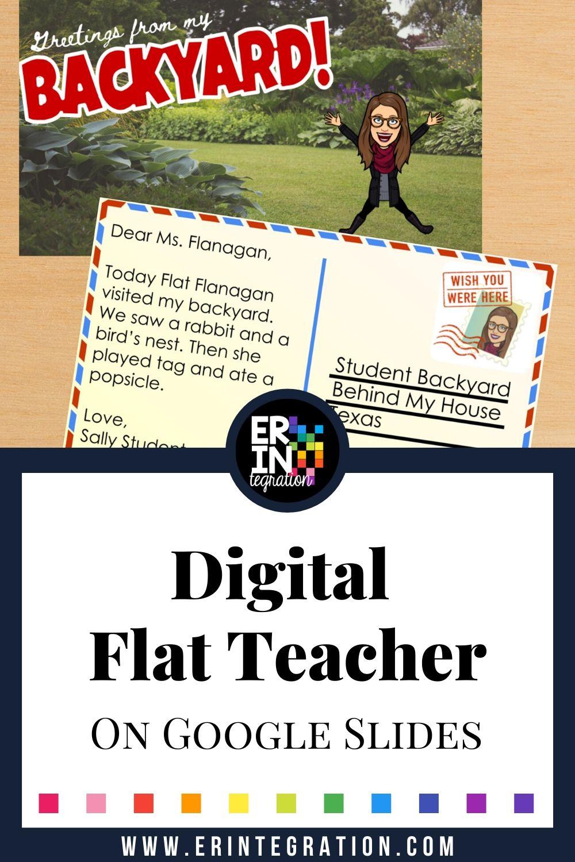 Digital Flat Teacher Project on Google Slides in 2020