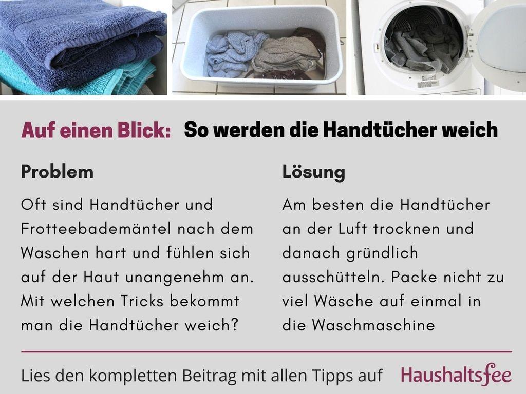Wie Bekommt Man Frottee Handtucher Weich Con Imagenes E Mailing