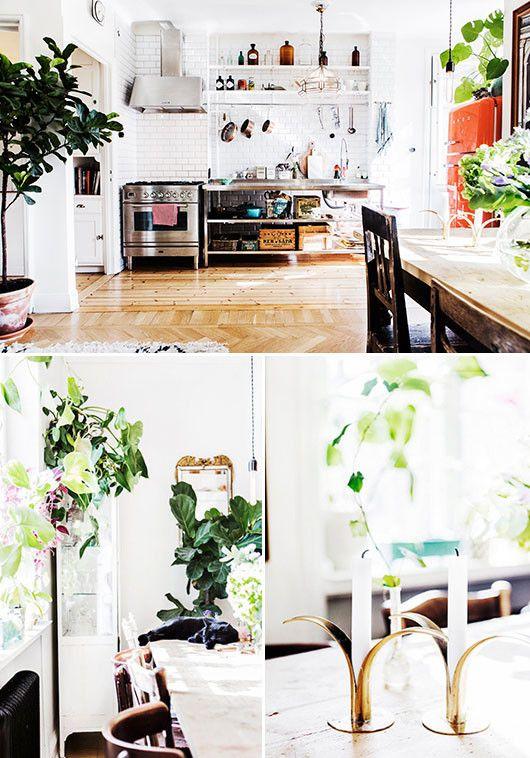 modern decor inside elsa billgren's home / sfgirlbybay