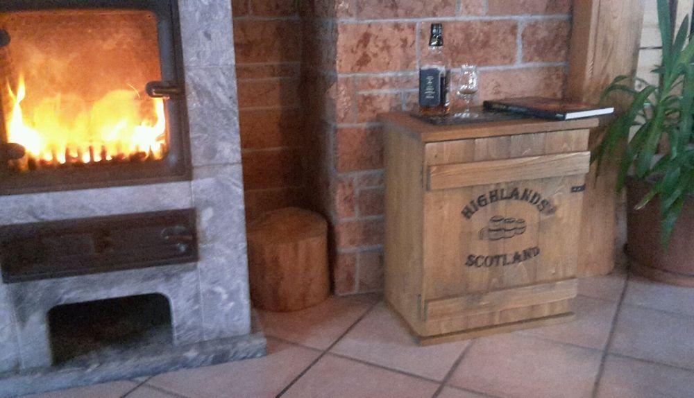 Bar Whiskey Frachtkiste Single Malt shabby vintage Schrank Whisky ...