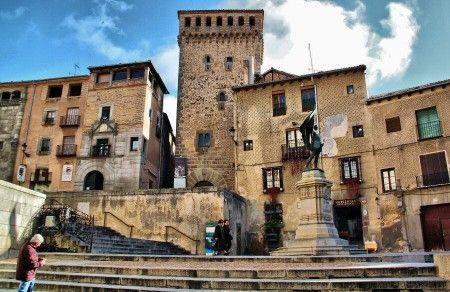 Plaza de San Martín en Segovia