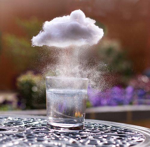 Cloud Rain Glass Ciencia Para Criancas Projetos De Ciencia
