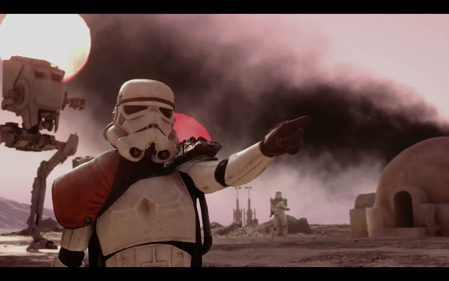 "Discover the Official Final Trailer for Star Wars Battlefront unveiled at Paris Game Week during the Sony Playstation conference.    http://www.dailymotion.com/video/x3bazp9    [iamagmp]    [caption id=""attachment_109014"" align=""alignnone"" width=""336..."
