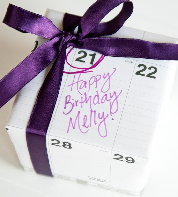 25 diy birthday wrapping ideas