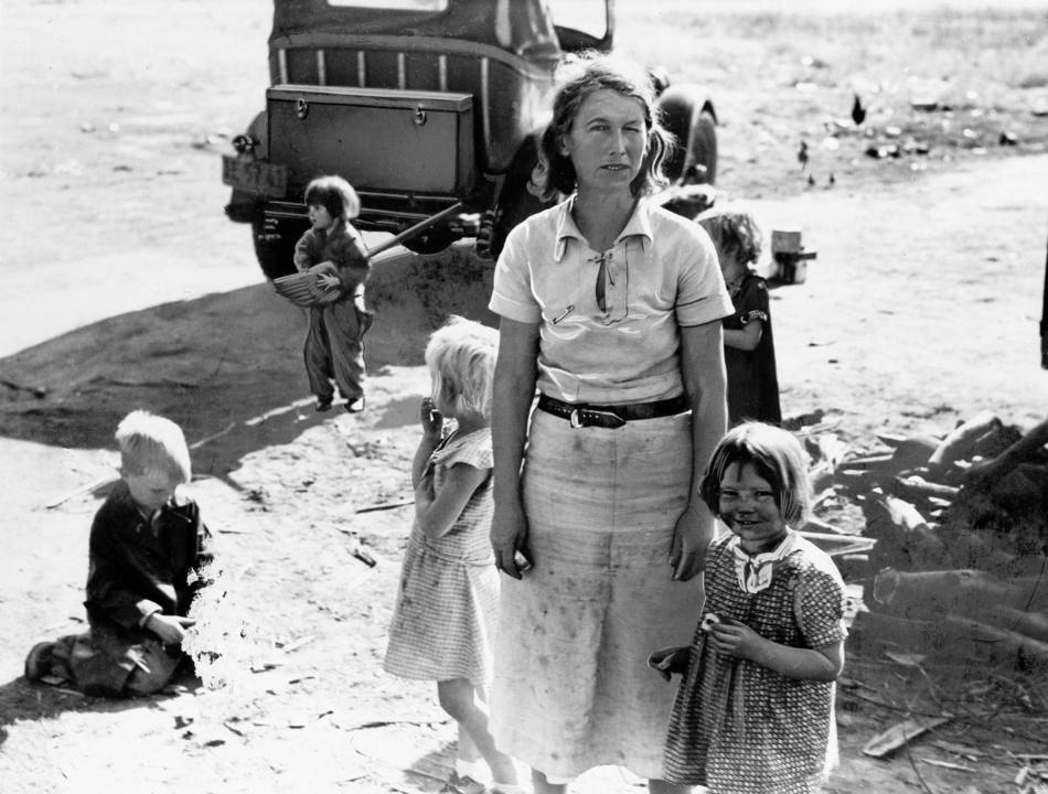 Image result for dorothea lange dust bowl