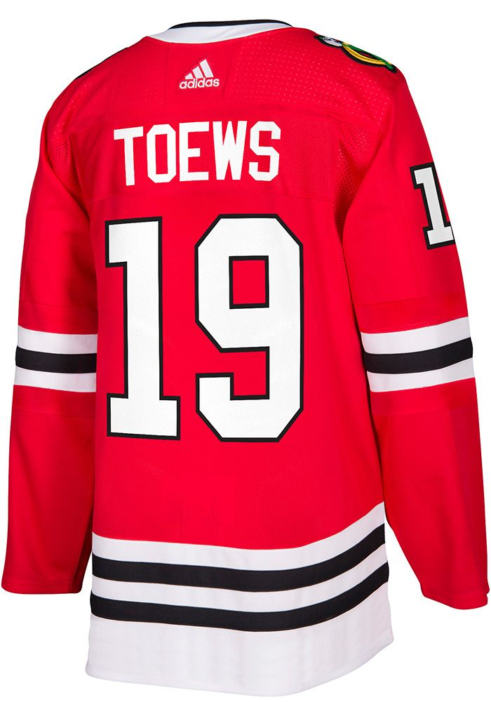 best sneakers 3ea16 f78ff Jonathan Toews Chicago Blackhawks Mens Red 2017 Home Hockey ...