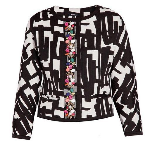 #chaqueta #morgan #morgandetoi #estampada