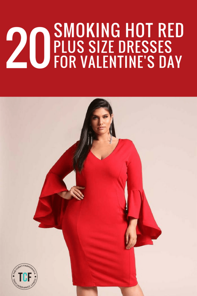 bb261996c18 Lady in Red  20 Smoking Hot Plus Size Dresses For Valentine s Day! http
