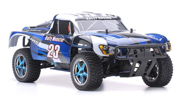 1/10 2.4Ghz Exceed RC Rally Monster Nitro Gas Powered RTR