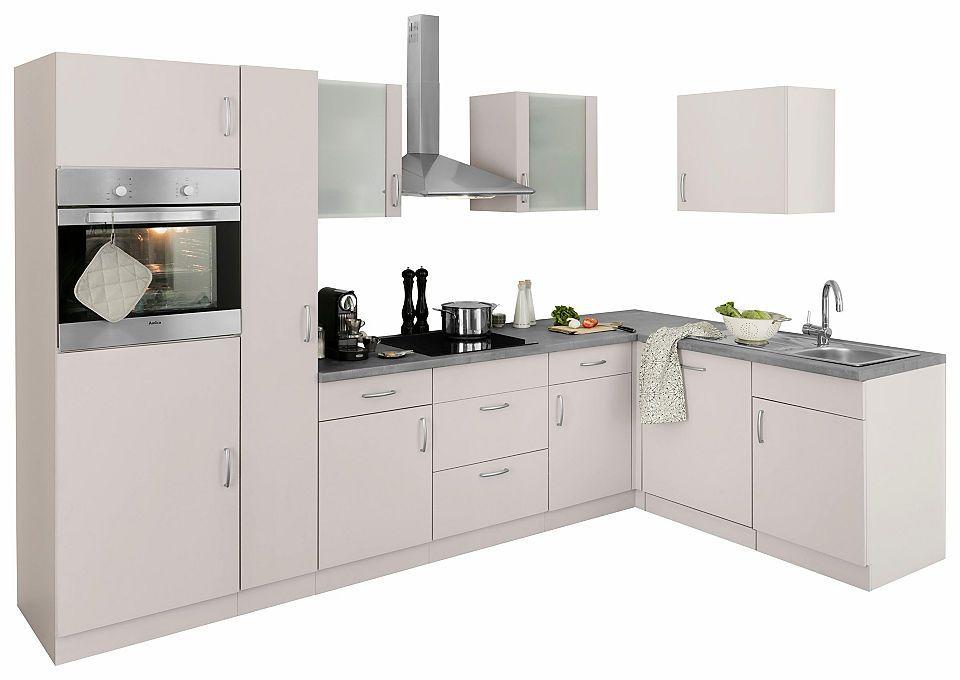 Winkelküche mit E-Geräten, Stellbreite 310 x 170 cm Jetzt - küchenzeile 240 cm mit geräten