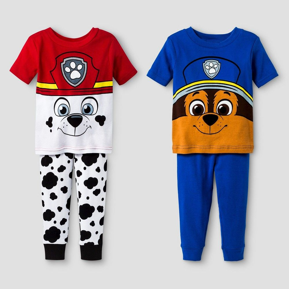 4a6b72106 Baby Boys  Paw Patrol 4-Piece Pajama Set 24M - Red