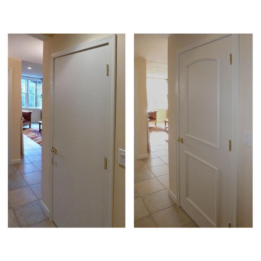 Ez Door 28 In Width Interior Door Self Adhering Decorative Frame Kit Ezd Fr 28 Tall Cabinet Storage Door Installation Frame Decor