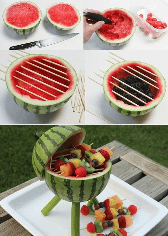 15 Pinterest-Worthy Picnic Ideas for Labor Day You'll Want To Try #labordaydesserts DIY fruit BBQ labor day picnic ideas #labordayfoodideas