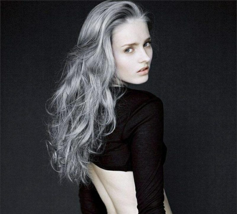 Strange The New Hairstyle Trend Gray Hair Coloring Hair Color Cream Schematic Wiring Diagrams Phreekkolirunnerswayorg