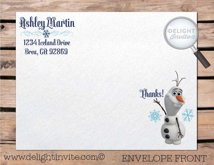 Christmas cards andpictures of olaf home frozen invitation christmas cards andpictures of olaf home frozen invitation envelope with olaf stopboris Image collections