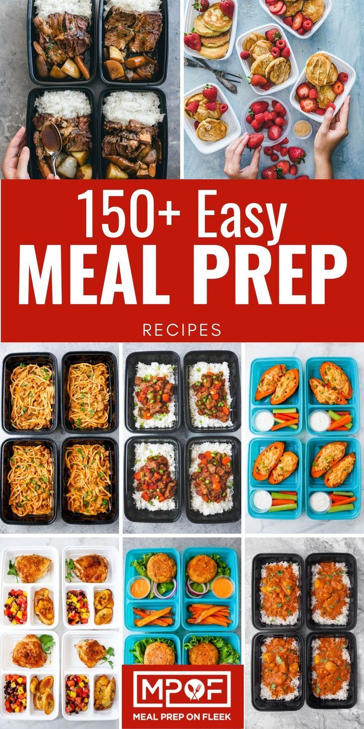 The Easiest Meal Prep Recipes - Meal Prep on Fleek -   18 meal prep recipes for the week lunches ideas