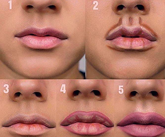 Photo of Schritt für Schritt Lippen Make-up #lipstutorial #lipscontouring ★ Jedes Mädchen kann – Beauty Home