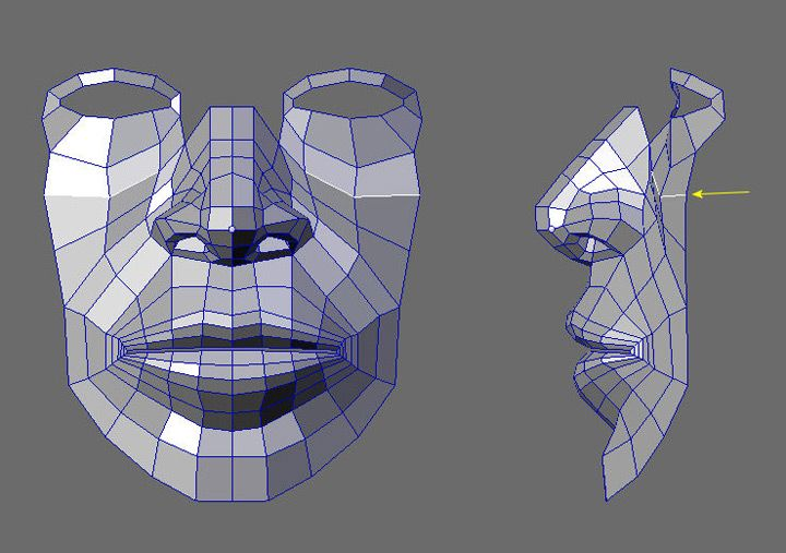 Cgarena Detailed Head Modeling This Is Great Step By Step Topology Pics The Nose Is Especially Good Character Modeling 3d Drawing Techniques Epic Drawings