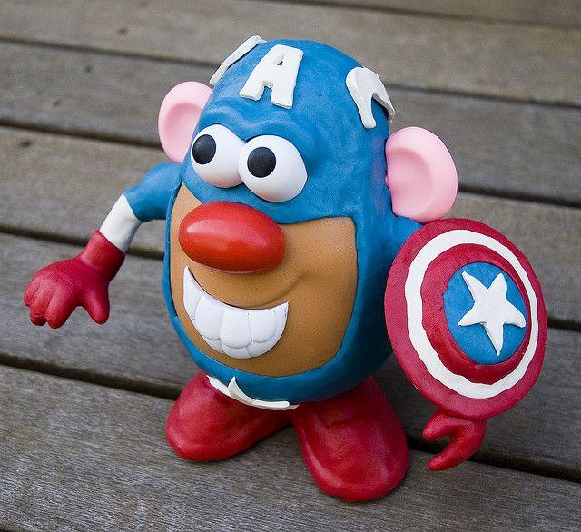 Captain Potato Head