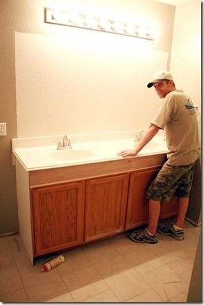 How To Raise A Bathroom Vanity Cabinet. How To Add Height To A Short Bathroom Vanity 32