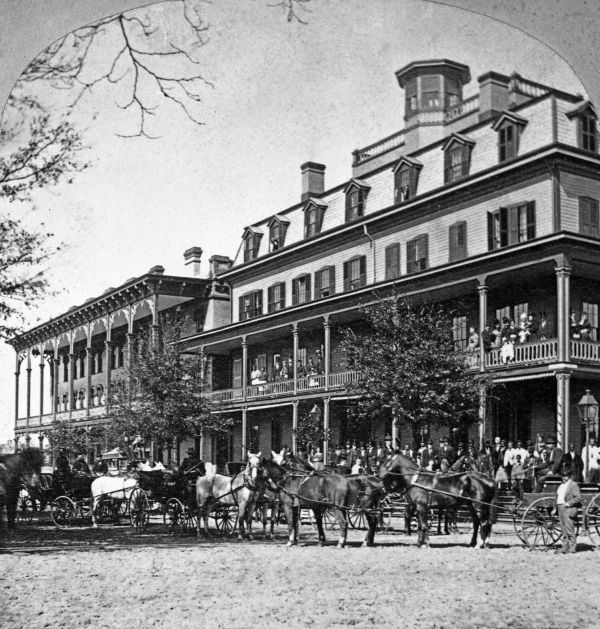 The St James Hotel Opened In 1869 Was The Largest Hotel In The
