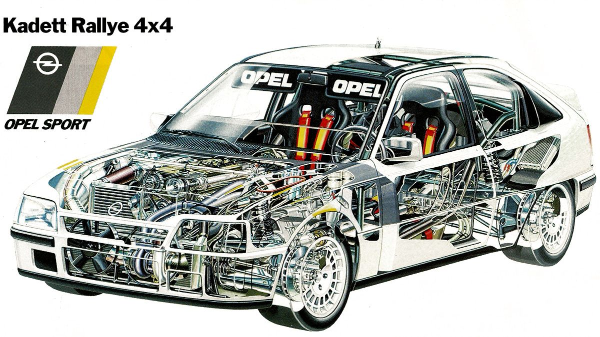 Opel Kadett Rallye 4x4   Youngtimer!!   Pinterest ...