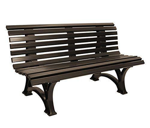 bank helgoland 3 sitzer kunststoff braun wetterfest gartenmoebel einkauf schule garten. Black Bedroom Furniture Sets. Home Design Ideas
