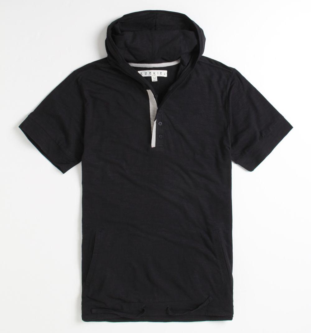 Ezekiel Bradshaw Short Sleeve Hooded Shirt - May just be my best find yet!