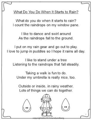 Celebrate National Poetry Month with An April Showers