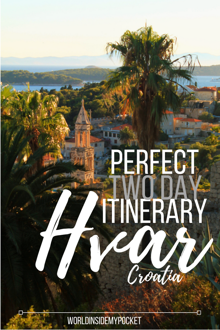 Here's How To Spend 2 Perfect Days On Hvar Island And See