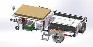 Resultado de imagem para off road camper trailer fabrication