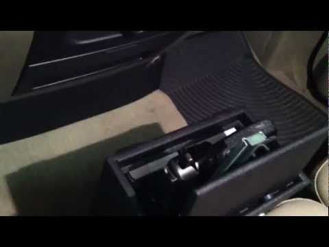 Secure car gun safe - YouTube | Guns | Guns, Hand guns, Car