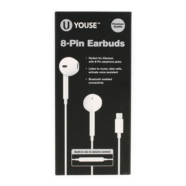 Amazon Com 2 Pack Apple Earbuds Headphones Earphones With 3 5mm Wired In Ear Headphone Plug Built In Microphone Volume Headphones Earbuds In Ear Headphones