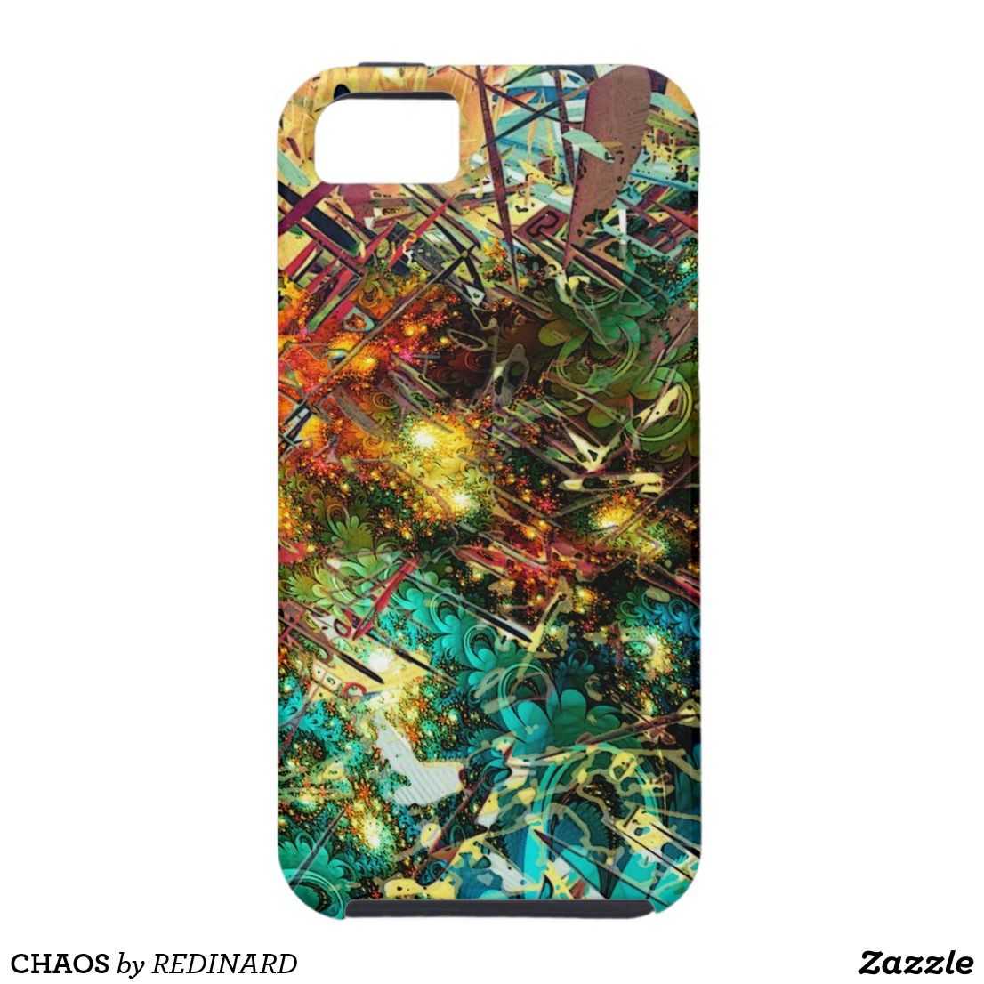 Chaos casemate iphone case with images