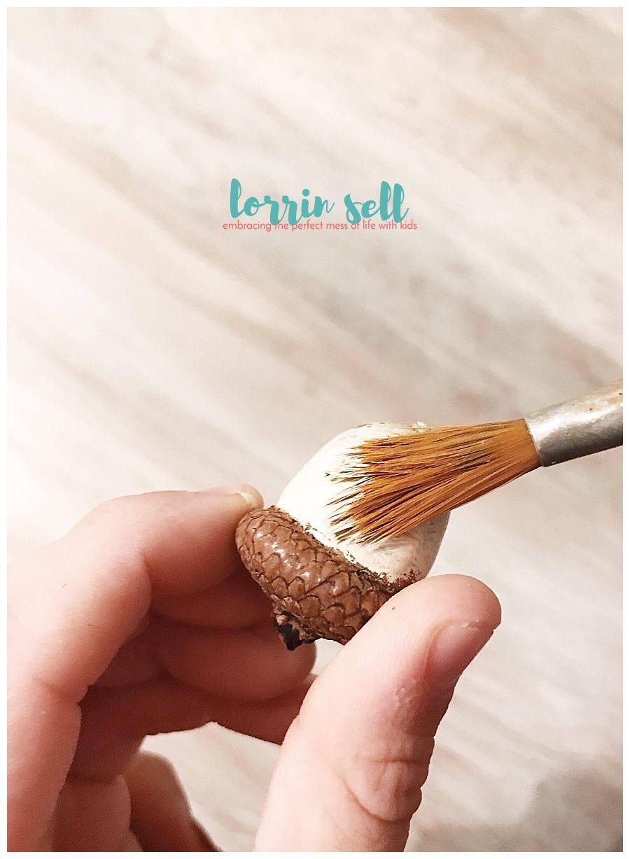 Easy DIY pine cone elf ornament Pine cone crafts, Pine