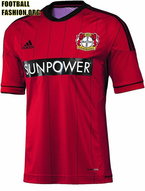 Bayer 04 Leverkusen adidas 2012/13 Home Kit - FOOTBALL FASHION ...