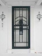 Art Deco Security Screen Storm Door Http Www Glassessential Com Door Security Door Security Doorsecurity D Security Screen Security Door Storm Door