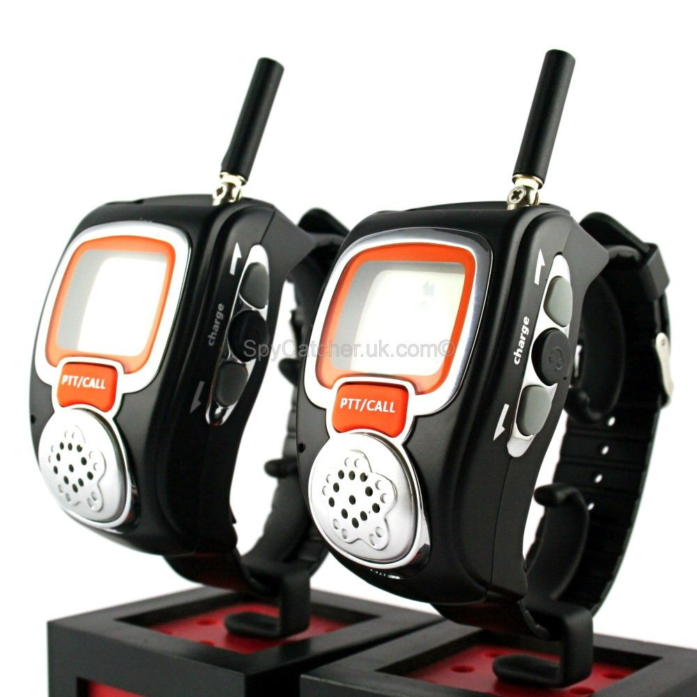 Wrist -Watch Walkie Talkie ~ These walkie talkie watches are great fun for both…